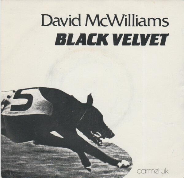 David McWilliams Black Velvet