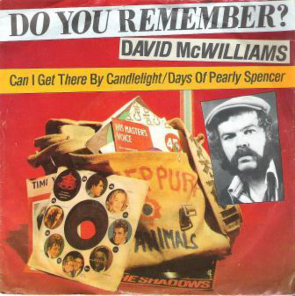 David McWilliams Can I Get There By Candlelight/Days Of Pearly Spencer