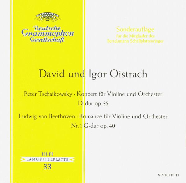 #<Artist:0x00007f4e0c988760> - Konzert Für Violine Und Orchester D-dur Op. 35 / Romanze Für Violine Und Orchester Nr. 1 G-dur Op.