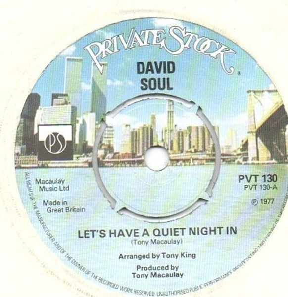David soul lets have a quiet night in