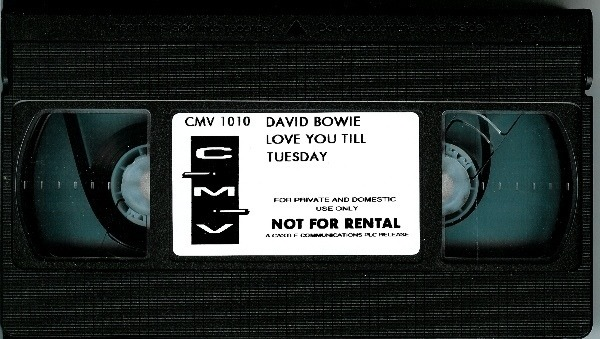 David Bowie Love You Till Tuesday