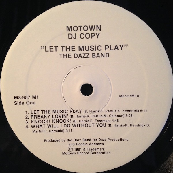 Let the music play by Dazz Band, LP with recordsale