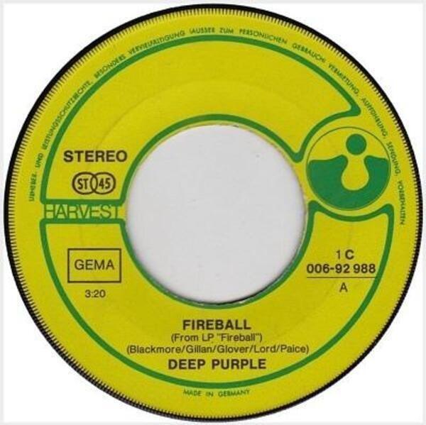 #<Artist:0x007f0b20768c70> - Fireball / Demon's Eye