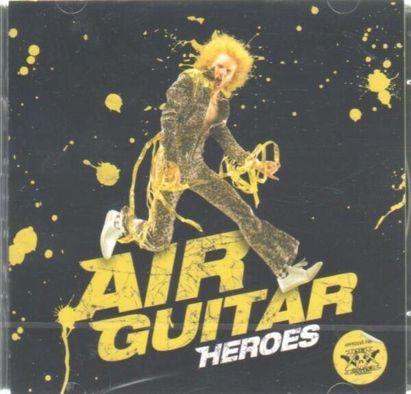 Deep Purple,Iron Maiden,David Bowie, u.a Air Guitar Heroes
