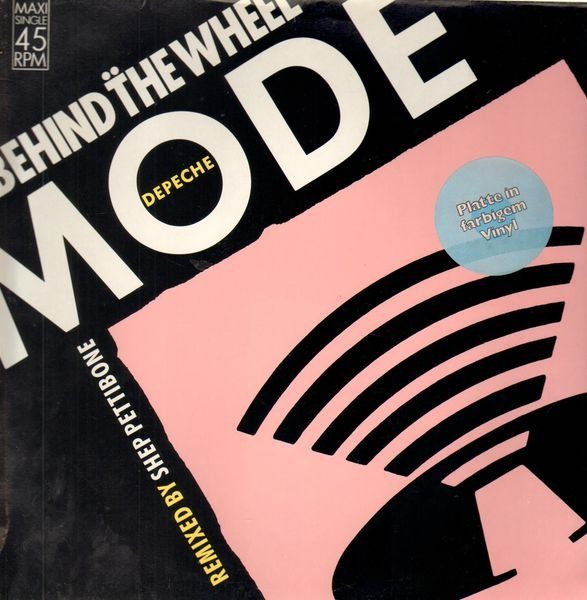 DEPECHE MODE - Behind The Wheel (Remixed By Shep Pettibone) (ORANGE VINYL) - Maxi x 1