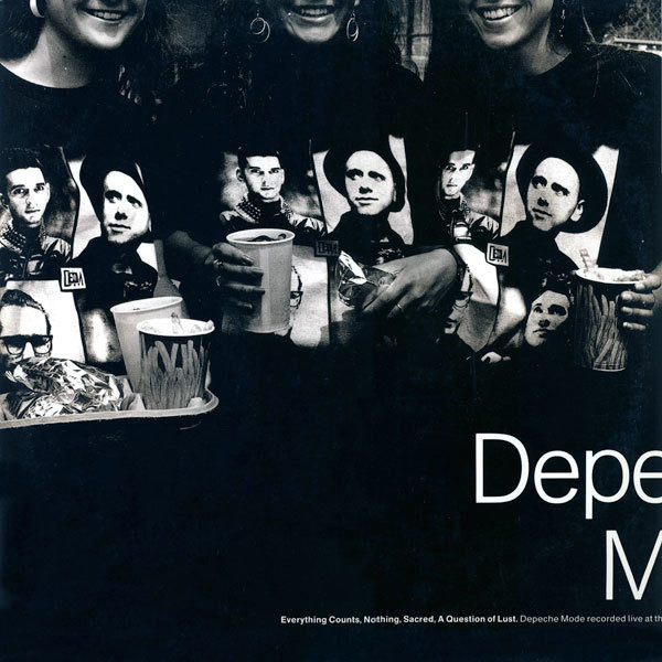 DEPECHE MODE - Everything Counts (Live) - 12 inch x 1