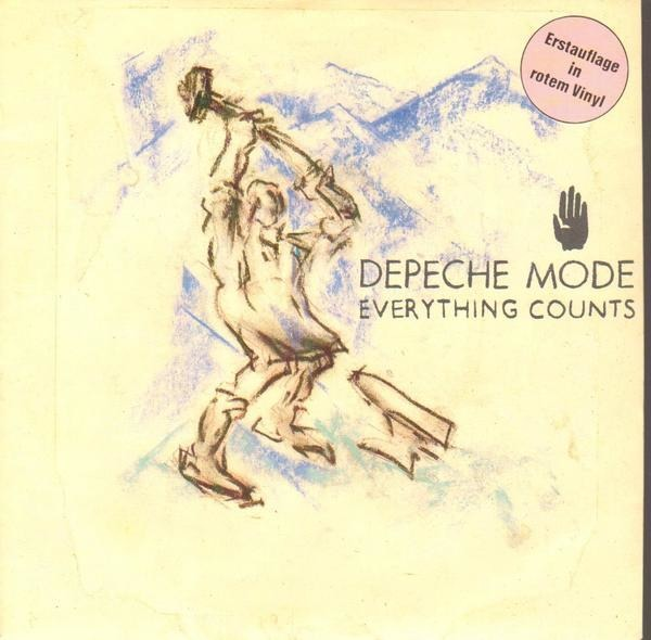 DEPECHE MODE - Everything Counts (RED VINYL) - 45T x 1