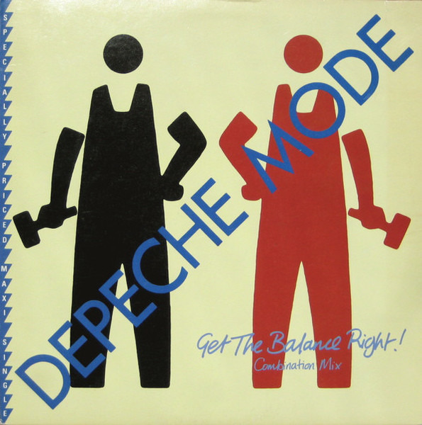 DEPECHE MODE - Get The Balance Right! Combination Mix (COVER MISSING) - Maxi x 1