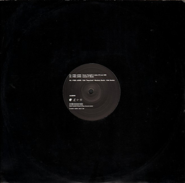 DEPECHE MODE - I Feel Loved (LIMITED PROMO) - 12 inch x 1
