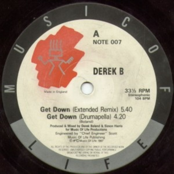 Derek B Get Down