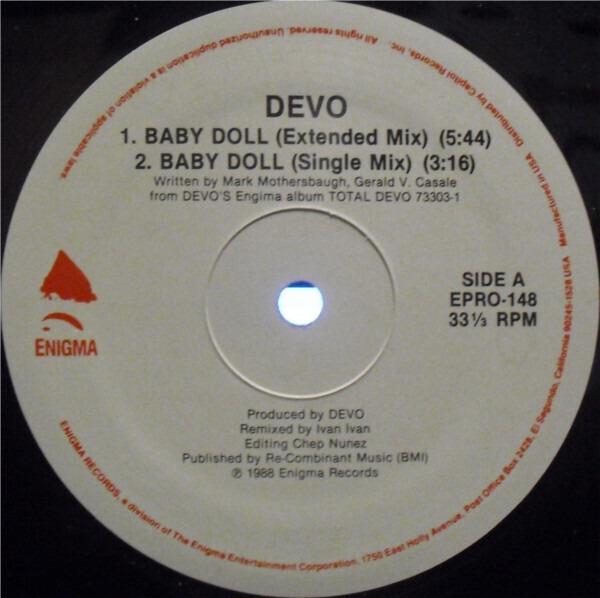 #<Artist:0x007f9357a77820> - Baby Doll