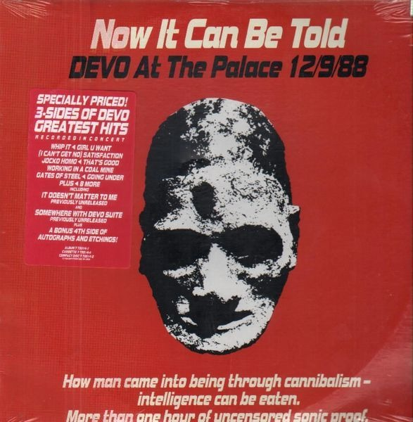 #<Artist:0x007fcf55c8e480> - Now It Can Be Told, Devo At The Palace 12/9/88