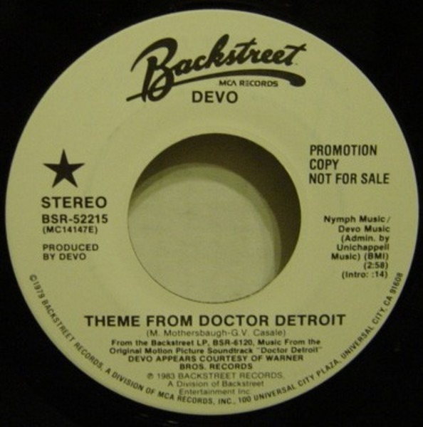 #<Artist:0x007fa4477c55e0> - Theme From Doctor Detroit