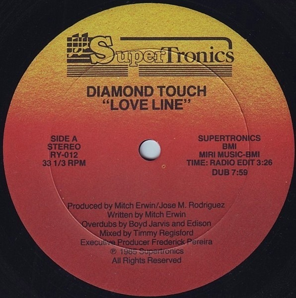 DIAMOND TOUCH - Love Line - 12 inch x 1