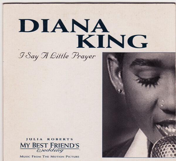 DIANA KING - I Say A Little Prayer - CD single