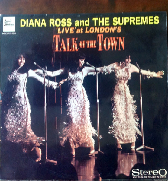 Diana Ross And The Supremes 'Live' At London's Talk Of The Town