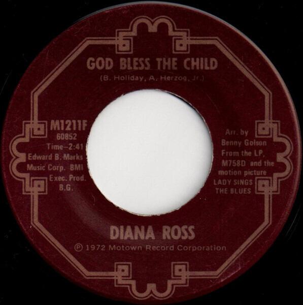 Diana Ross Good Morning Heartache / God Bless The Child