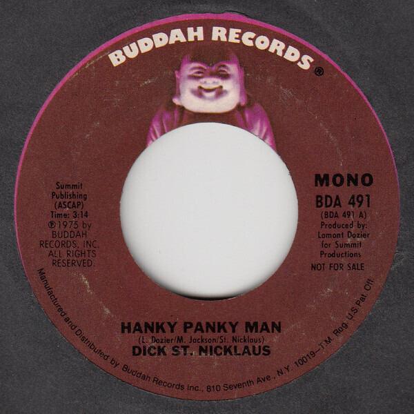 Dick St. Nicklaus Hanky Panky Man