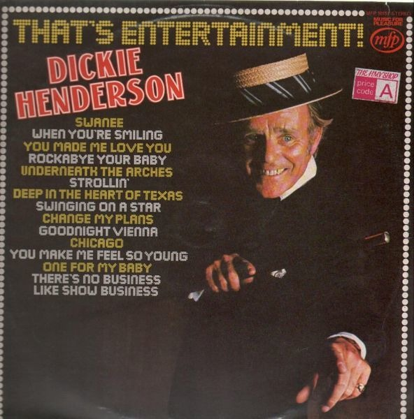 DICKIE HENDERSON - That´s Entertainment - 33T