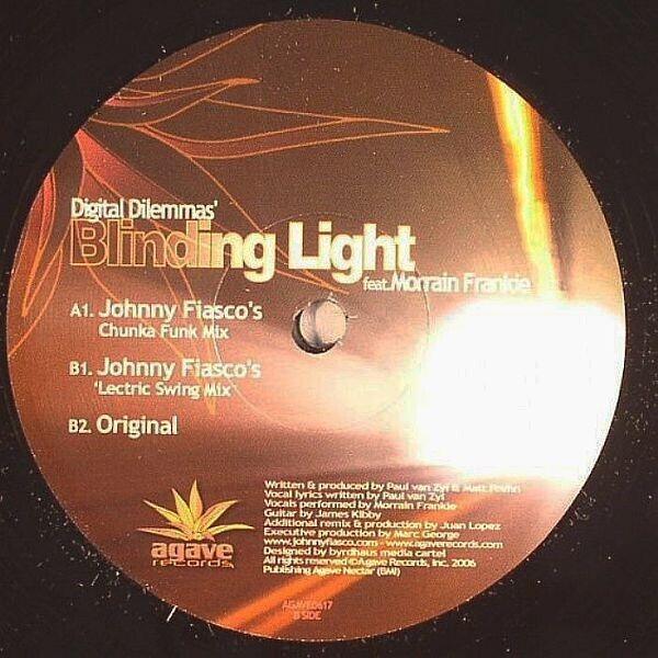 DIGITAL DILEMMAS FEAT. MORRAIN FRANKIE - Blinding Light - 12 inch x 1
