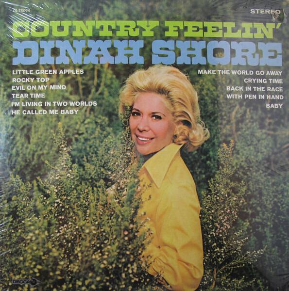 Dinah Shore - Country Feelin' (promo)