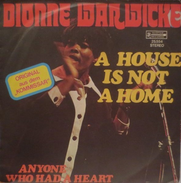 Dionne Warwick A House Is Not A Home