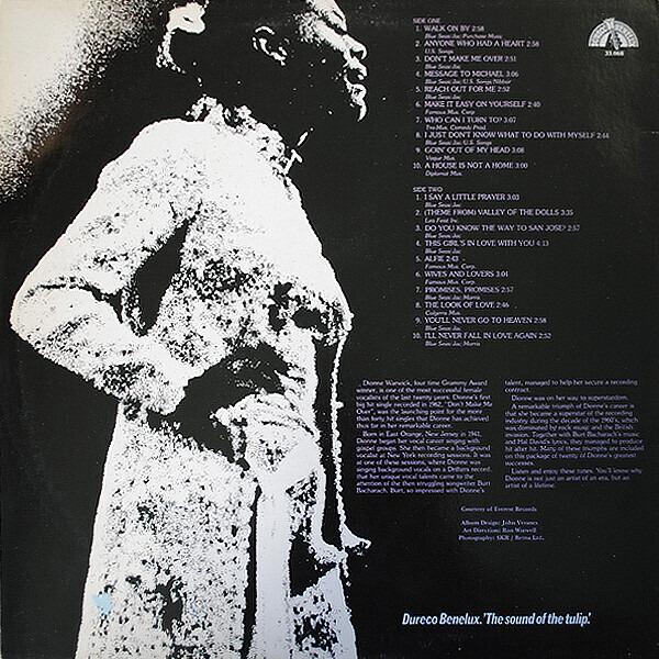 Dionne Warwick 20 Greatest Hits