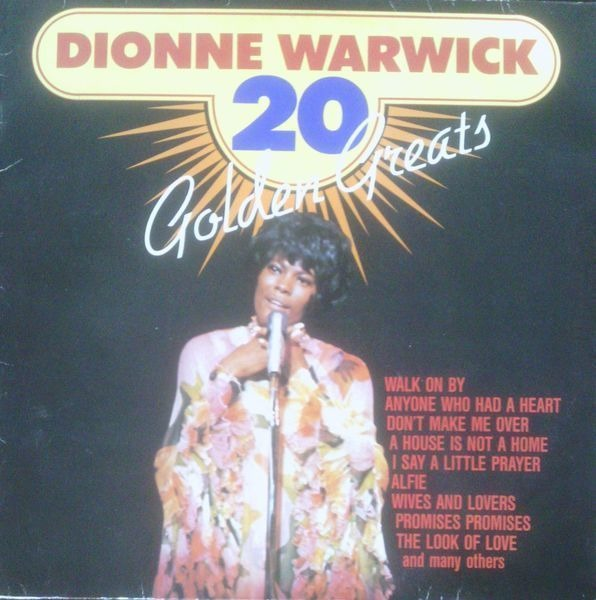 Dionne Warwick 20 Golden Greats Records Lps Vinyl And