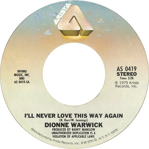 #<Artist:0x007feadfc0fc70> - I'll Never Love This Way Again