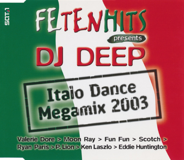 DJ DEEP - Italo Dance Megamix 2003 - CD single