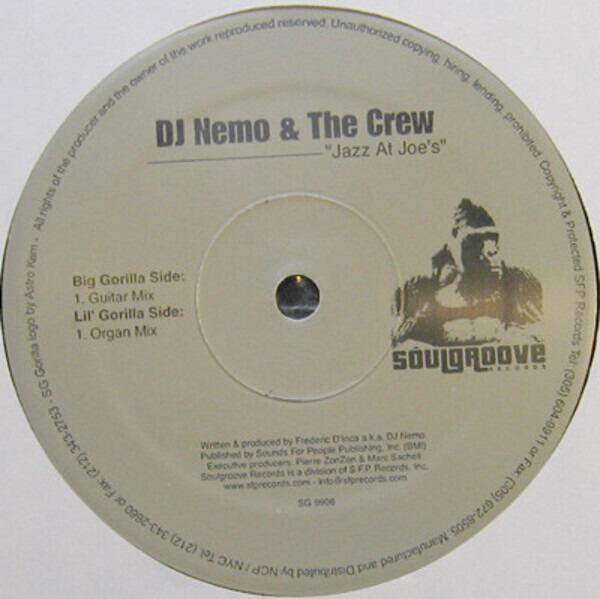 DJ NEMO & THE CREW - Jazz At Joe's - 12 inch x 1