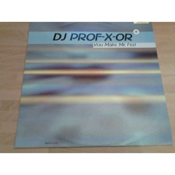 DJ PROFESSOR - You Make Me Feel - Maxi x 1