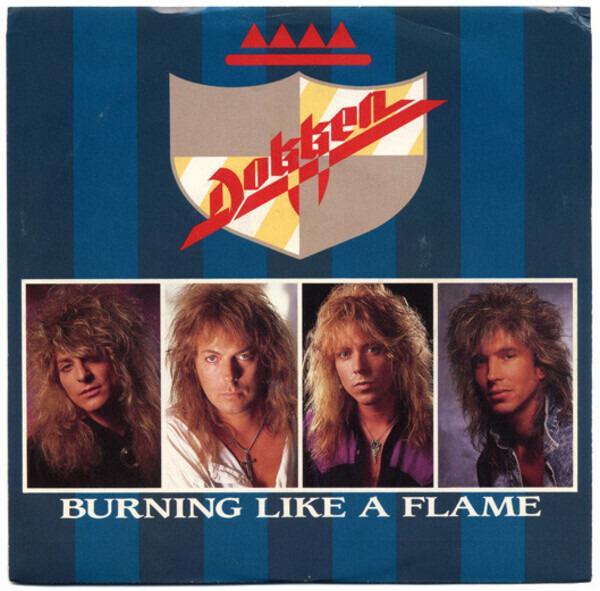 Dokken - Burning Like A Flame Record