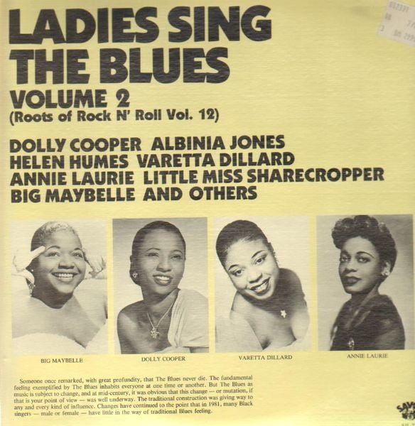 dolly cooper, albinia jones a.o. ladies sing the blues - volume 2 (roots of rock n' roll vol. 12)