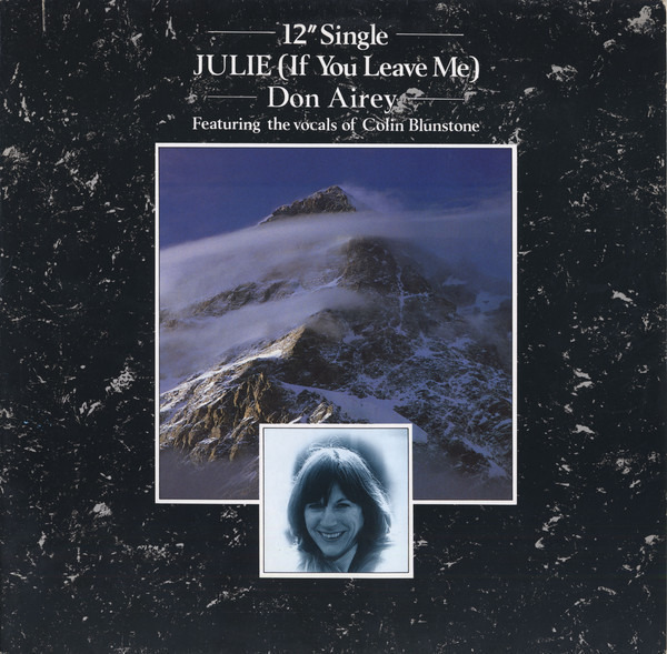 DON AIREY - Julie (If You Leave Me) - 12 inch x 1
