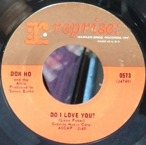 DON HO - Do I Love You? / All That's Left Is The Lemon Tree - 7inch x 1