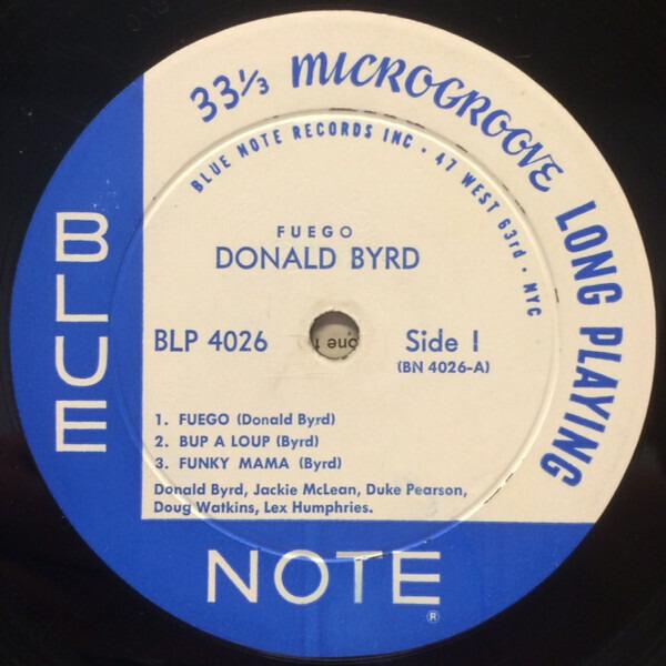Donald Byrd Fuego (MONO ORIGINAL)