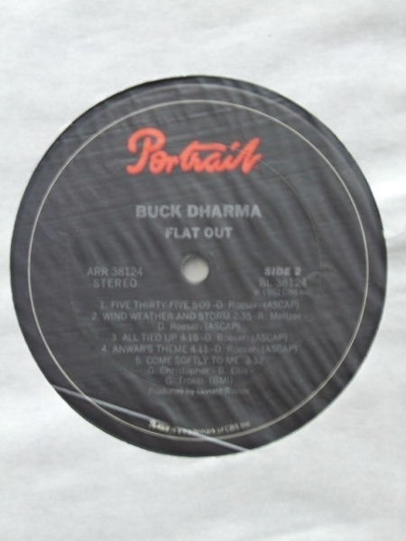 Buck Dharma Flat Out