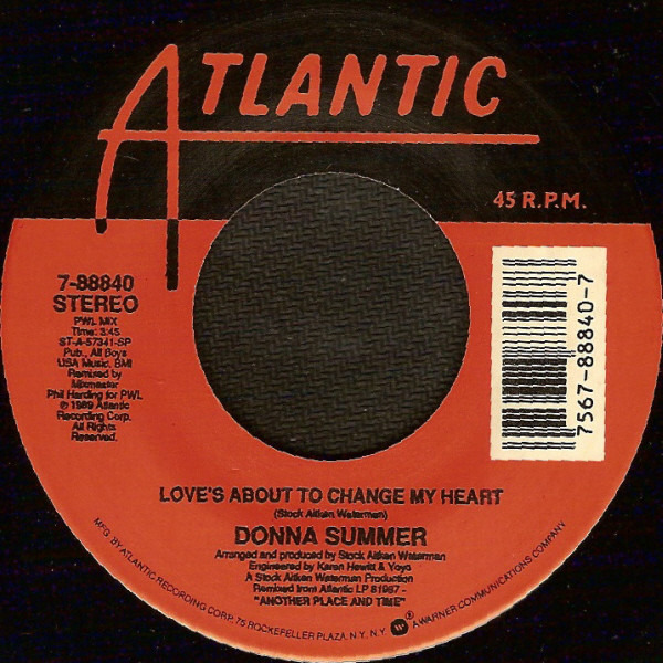 #<Artist:0x007fca435752c8> - Love's About To Change My Heart