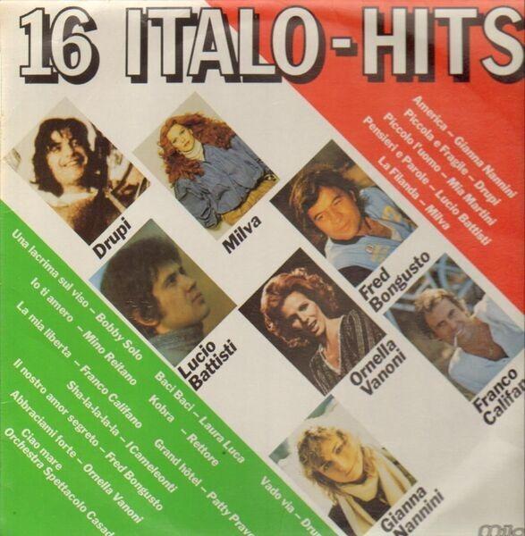 Drupi, Milva, Lucio Battista 16 Italo-Hits