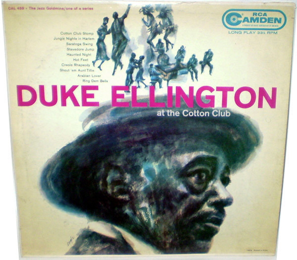 DUKE ELLINGTON AND HIS ORCHESTRA - At The Cotton Club - LP