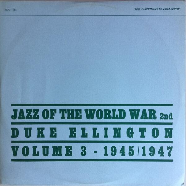 #<Artist:0x00007f4e0faf85c0> - Jazz of the World War 2nd Volume 3