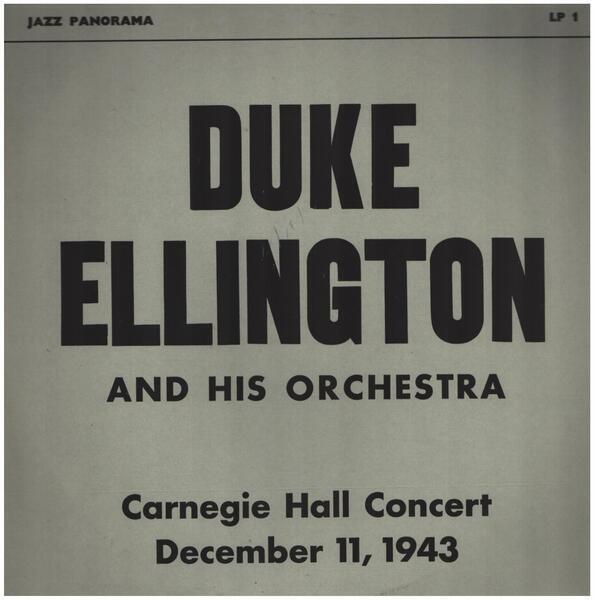 #<Artist:0x00007f4de49fcd40> - Carnegie Hall Concert December 11, 1943