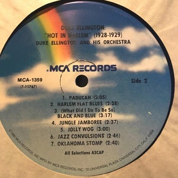 Duke Ellington And His Orchestra 'Hot In Harlem' (1928-1929) Vol. 2