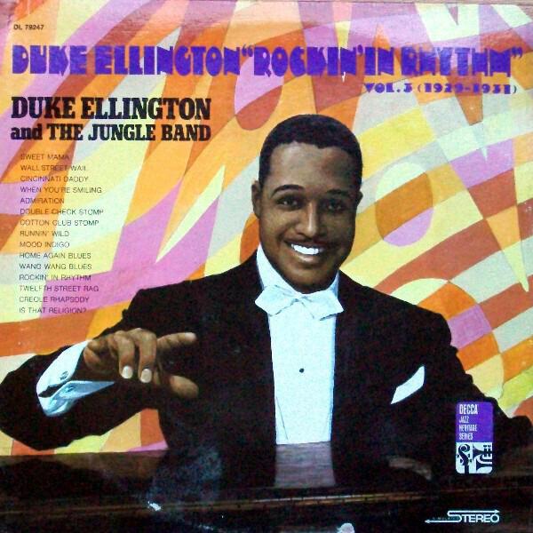 "#<Artist:0x00007f4e0e0cd010> - Duke Ellington ""Rockin' In Rhythm"" Vol. 3 (1929-1931)"