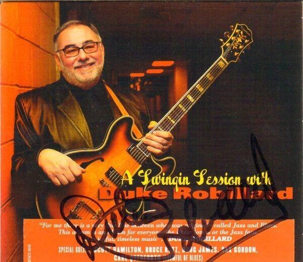 #<Artist:0x00007fcea5f70618> - A Swinging Session With Duke Robillard
