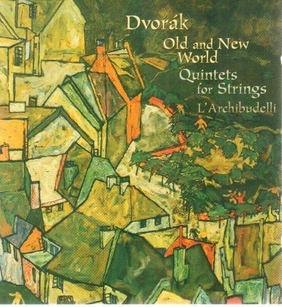 DVORAK - String Quintets op. 77, op. 40 & op. 97 - CD