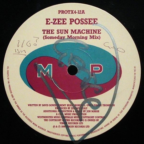 E-ZEE POSSEE - The Sun Machine - Maxi x 1
