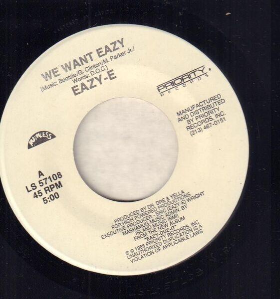 #<Artist:0x007fa479f9dc68> - We Want Eazy / Eazy-er Said Than Dunn