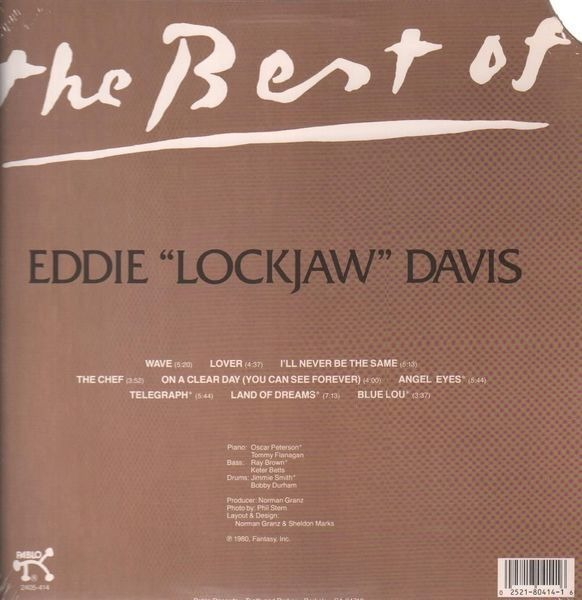 Eddie Lockjaw Davis Best of (STILL SEALED)
